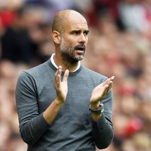 Pep Guardiola Emirates Stadium Manchester City   EFE