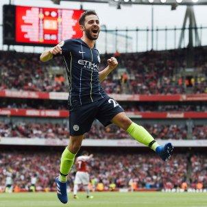 Bernardo Silva Manchester City gol   EFE