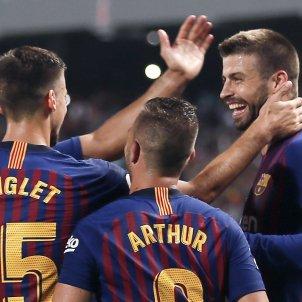 Barça pinya Sevilla Supercopa Espanya EFE