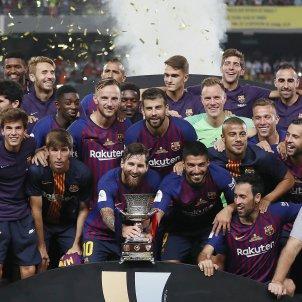 Barça copa Supercopa Espanya EFE