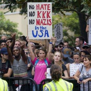Protesta Casa Blanca  - EFE
