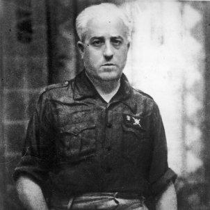 Juan Yagüe y Blanco en 1939 matanza badajoz Narodowe Archiwum Cyfrowe