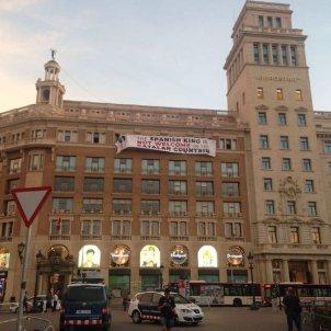gran vista pancarta placa catalunya pau llosa