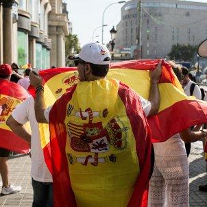 espanyolisme bandera espanyola 17A plaça catalunya (bona qualitat) - Carles Palacio