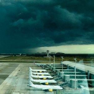 el prat tempesta aeroport enaire