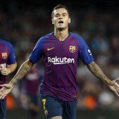 Coutinho Barça Alabès Lliga EFE