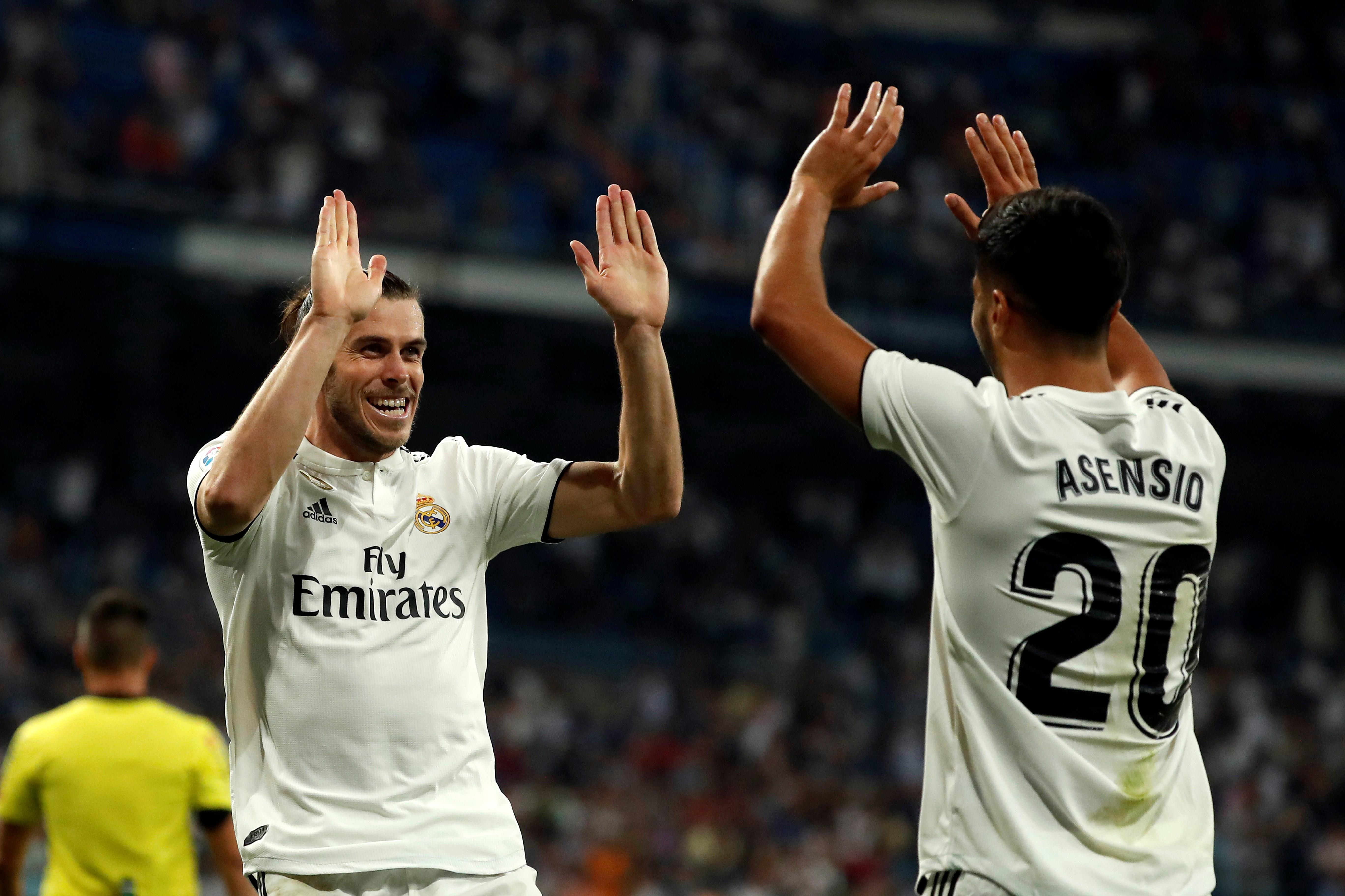 Bale Asensio Madrid Getafe EFE