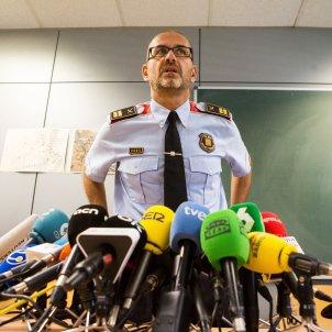 Mosso comisari Rafael Comes atac terrorista Cornella - Efe