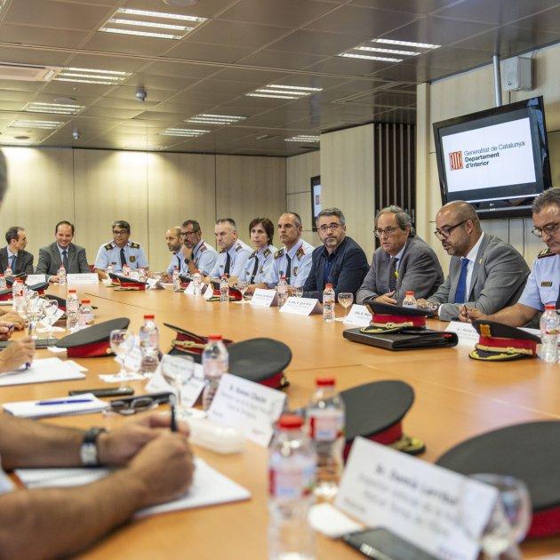 Reunió Coordinacio Antiterrorista Buch Torra - Sergi Alcazar