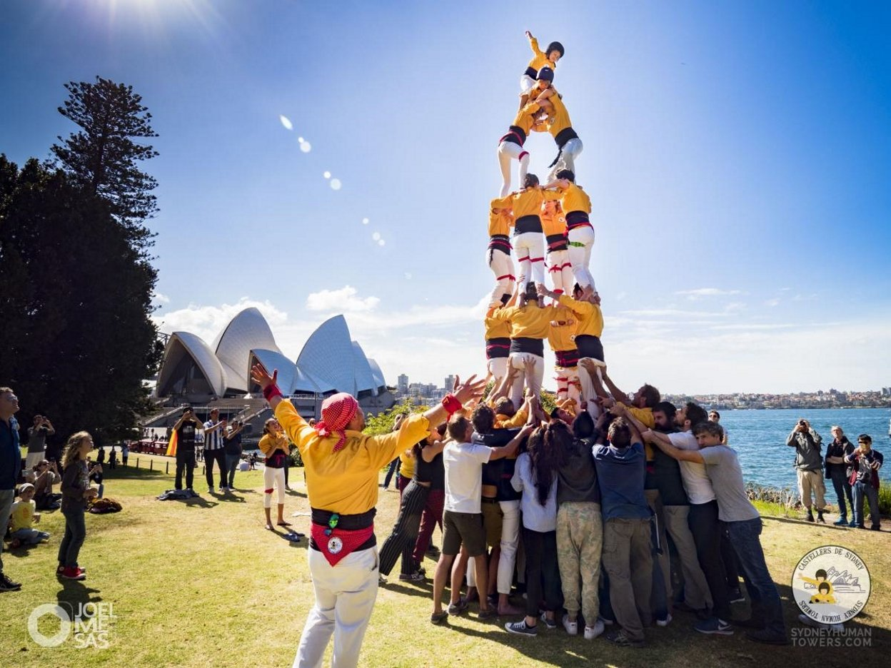 2017 09 10 Diada Casal Castellers Sydney barcelona 360