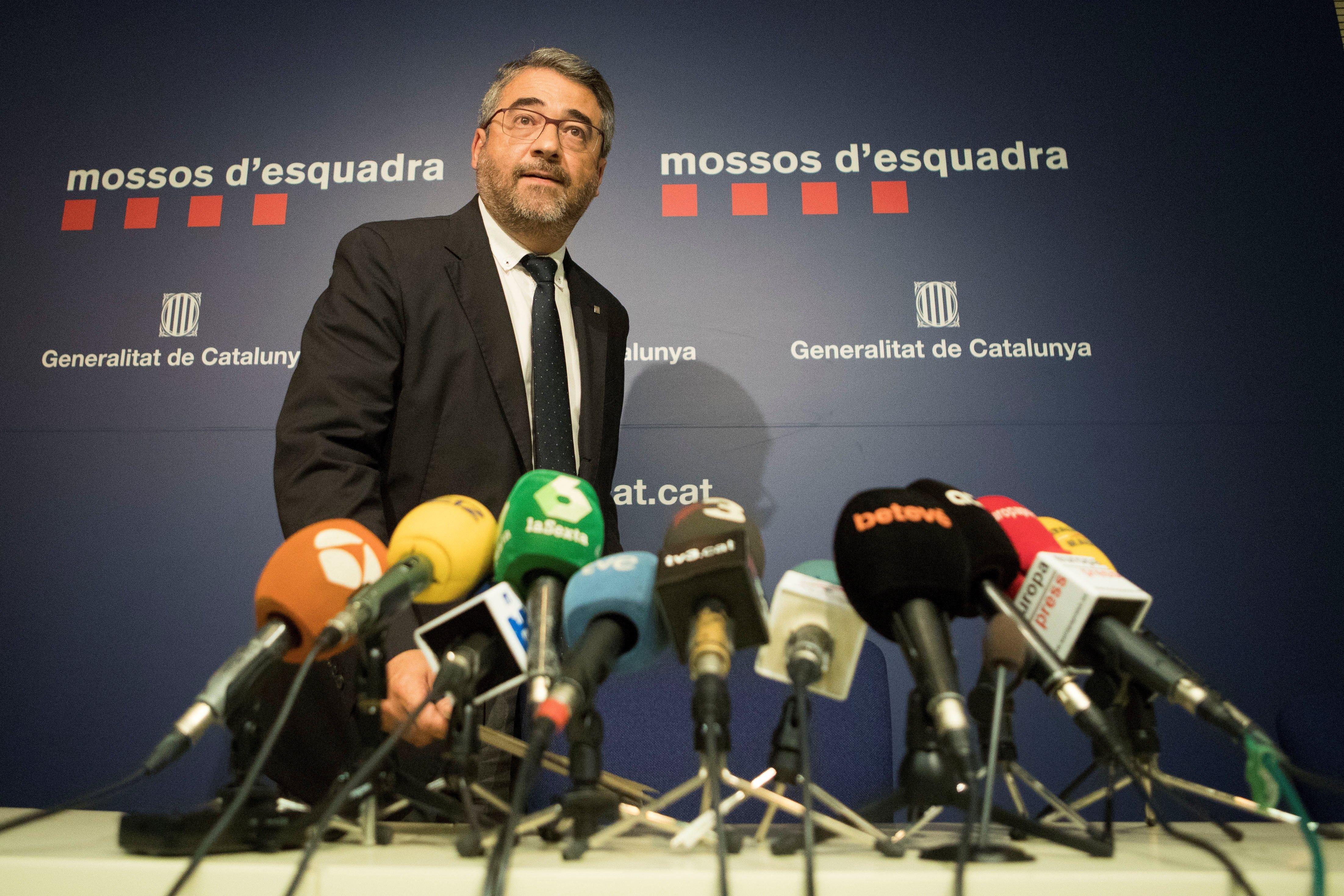 andreu joan martinez director mossos - efe