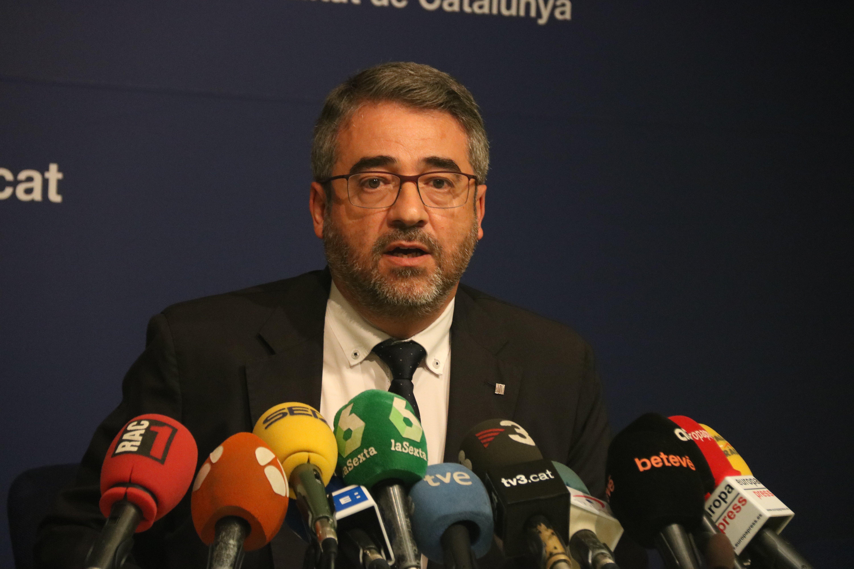 Andreu Martínez, director general dels Mossos d'Esquadra /ACN