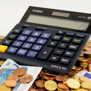 estalvi monedes diners calculadora pixabay
