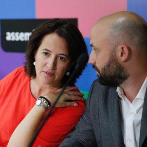 Paluzié i Graupera a l'acord ANC primàries /Sergi Alcázar