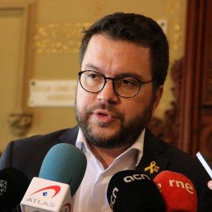 Pere Aragonès Sitges ACN