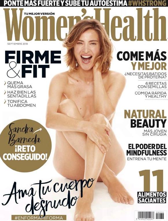 El Aplaudido Y Reivindicativo Desnudo Integral De Sandra Barneda