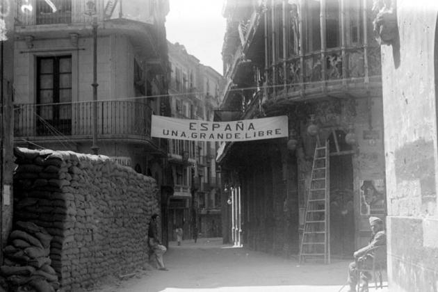 Lleida, 1938. Font Institut d'Estudis Ilerdencs. Fons Porta