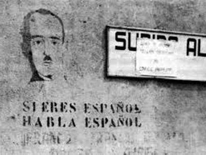 Mural franquista (2). Font European Observatory on Memories