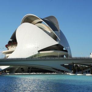 Calatrava. Ciutat Arts. València. Pixabay