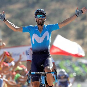 Alejandro Valverde Vuelta Espanya EFE