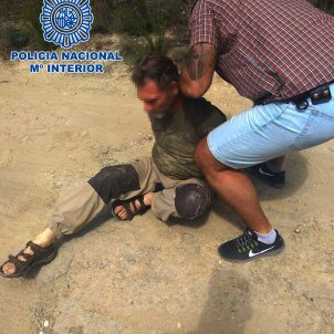 detingut holandès a Barcelona CNP
