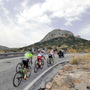 Ciclistes Vuelta Espanya 2018 EFE