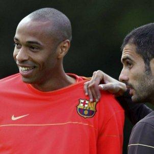 Thierry Henry Barça Pep Guadriola   EFE