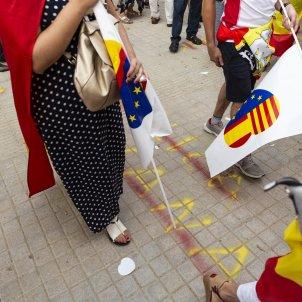 Mani Ciutadans Ciutadella pintades Unionisme agresions - Sergi Alcazar
