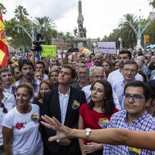 Mani Ciutadans Ciutadella Sonia Sierra Espejo Rivera Arrimadas Unionisme - Sergi Alcazar