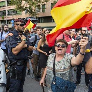 Mani Ciutadans Ciutadella agresions Mossos unionisme espanyolisme - Sergi Alcazar