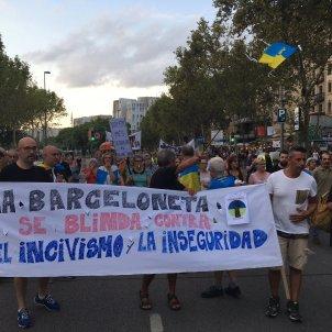 protesta veïns de la Barceloneta/G.R