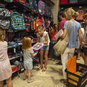 Tornada escola Abacus llibreria papereria - Sergi Alcazar