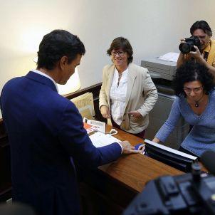 Sánchez renuncia EFE