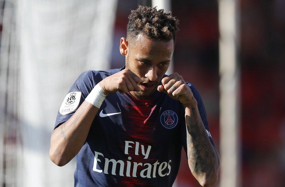 Neymar celebració plors PSG   EFE