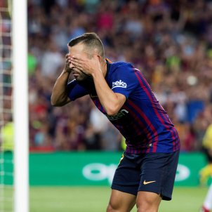 Jordi Alba Barça   EFE