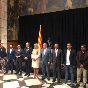 foto familia signatura acord interprofessionalitat   Carlota Serra