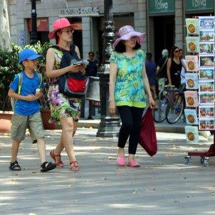 turistes rambles barcelona ACN