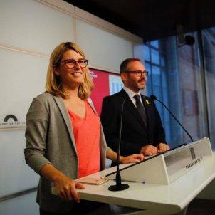 Elsa Artadi Josep Costa Parlament 20180903 Sergi Alcázar