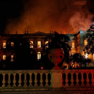 museu nacional brasil incendi efe