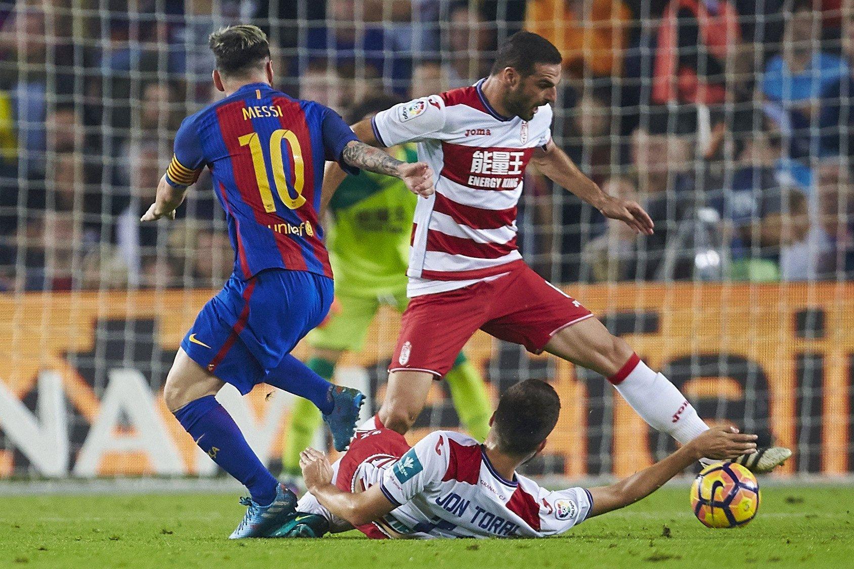 Leo Messi Granada Barça EFE
