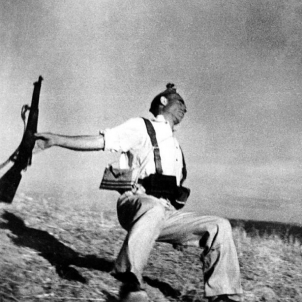 Mor Frederic Borrell, dissortat protagonista de la fotografia 'Mort d'un milicià'. Fotografia Mort d'un milicià.  Font Blog Libcom2