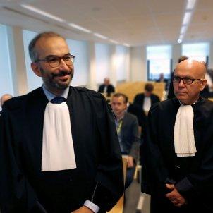 Hackim Boularbah i Gonzalo Boye Advocats Llarena Puigdemont - Efe
