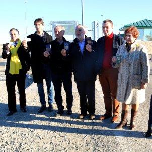 Eurodiputats a Estremera ACN