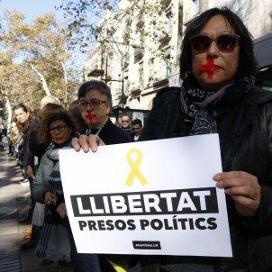 manifestacio presos funcionaris - acn