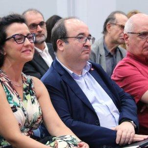 Eva Granados, Miquel Iceta i Lluis Rabell - ACN