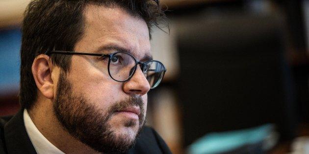 vicepresident pere aragones entrevista - Carles Palacio
