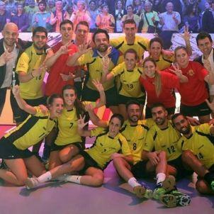 Catalunya Corfbol bronze campionat Europeu   Marco Spelten