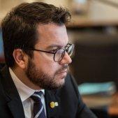 vicepresident Pere Aragones - Carles Palacio