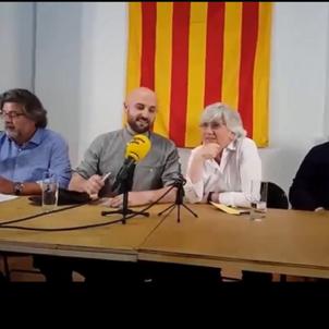 anc londres Jordi Graupera, Clara Ponsatí, Antoni Castellà