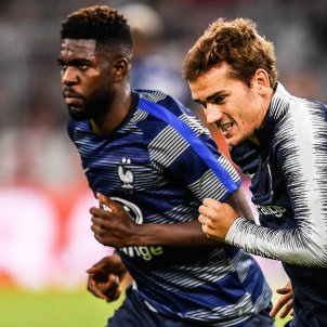 Griezmann Umtiti França Alemanya amistós   EFE